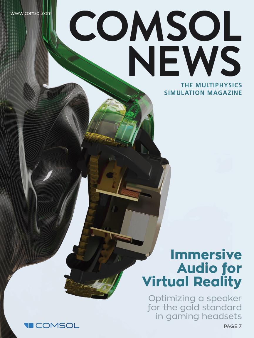 COMSOL News 2020. La revista de simulación multifísica.