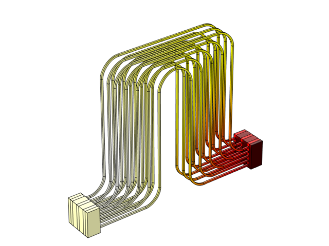Análisis del enfriamiento líquido de una batería de iones de litio
