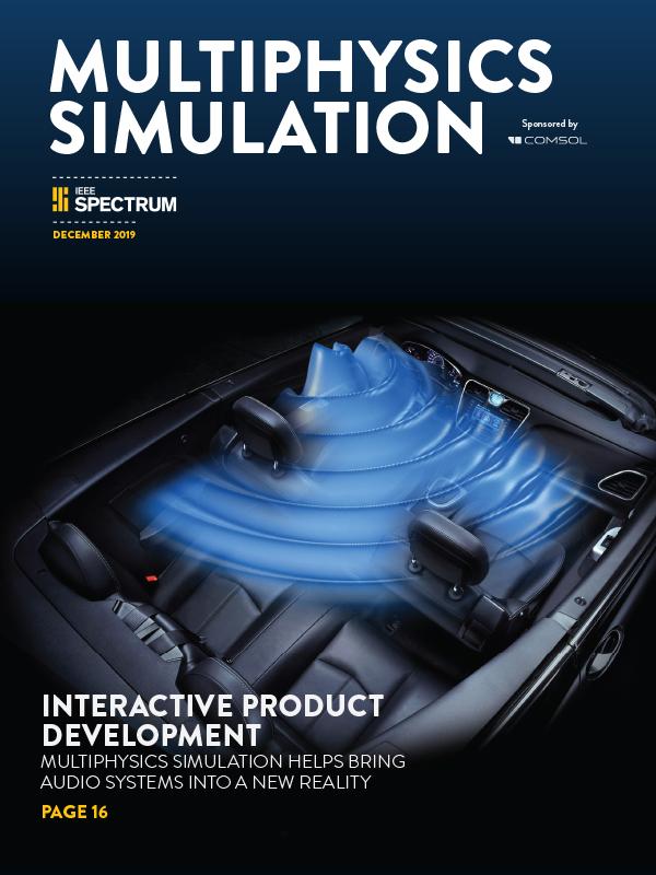 Multiphysics Simulation 2019: una inserción de IEEE Spectrum