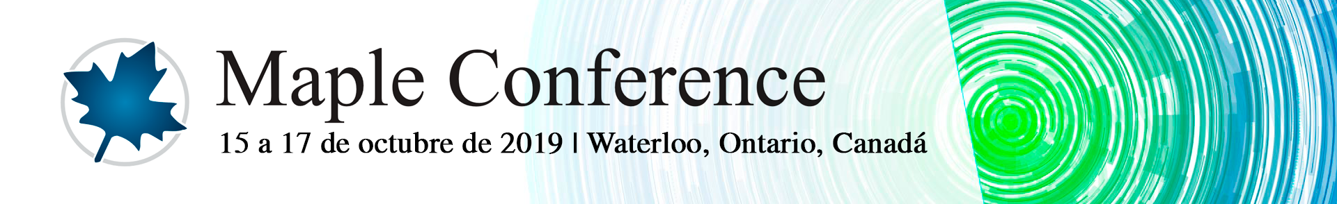 Maple Conference 2019