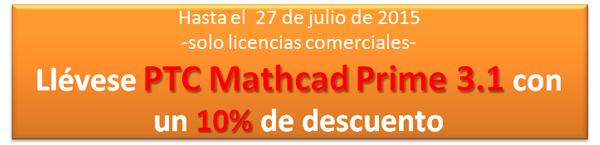 Oferta Mathcad julio 2015
