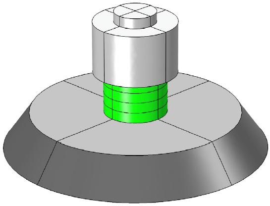 Modelo de un transductor de Tonpilz