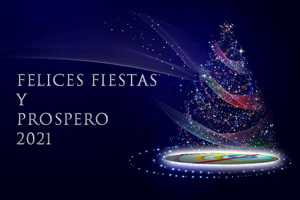 ¡Felices Fiestas y Próspero 2021!