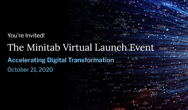The Minitab Virtual Launch Event