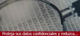 Proteja sus datos confidenciales y reduzca...
