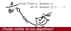 ¿Puede confiar en sus algoritmos?