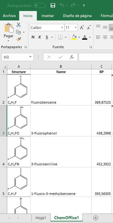 ChemDraw y ChemFinder: Creación de librerías de compuestos