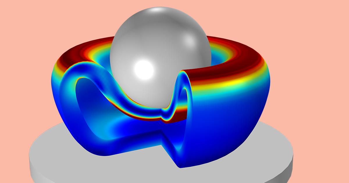 Determinación de los parámetros del material hiperelástico