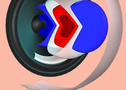 6 ejemplos de desarrollo de altavoces impulsados por simulación con COMSOL Multiphysics