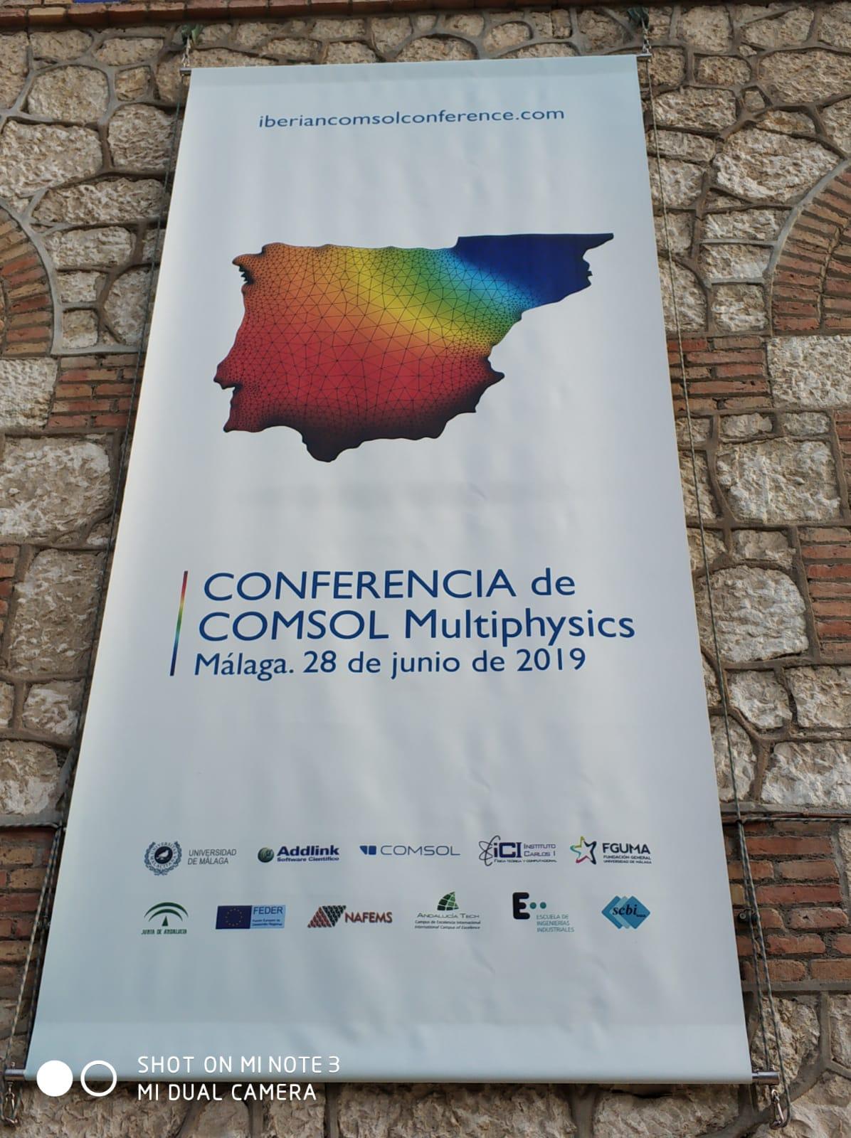 Inaugurada la Conferencia de COMSOL Multiphysics 2019