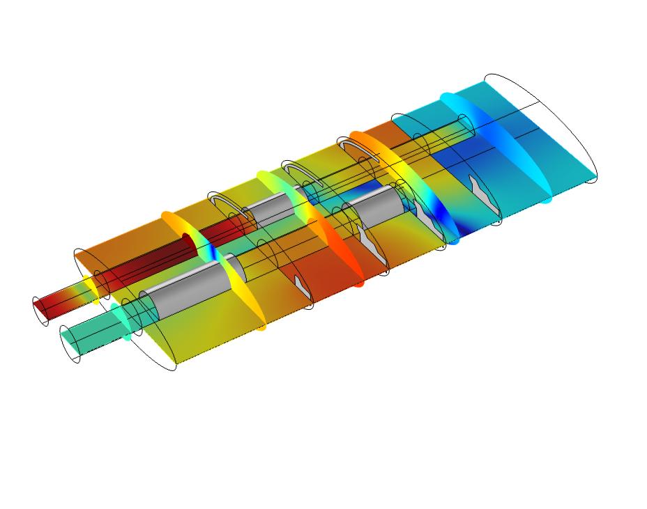 Software : COMSOL Acoustics Module 5.4