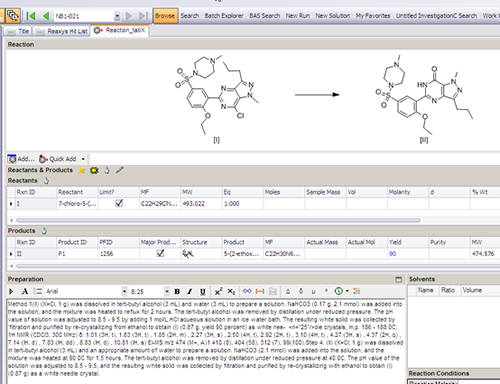 Optimización de la planificación de reacciones utilizando ...