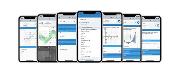 La nueva versión de la aplicación Maple™ Calculator ayuda a los estudiantes a aprender matemáticas con soluciones paso a paso