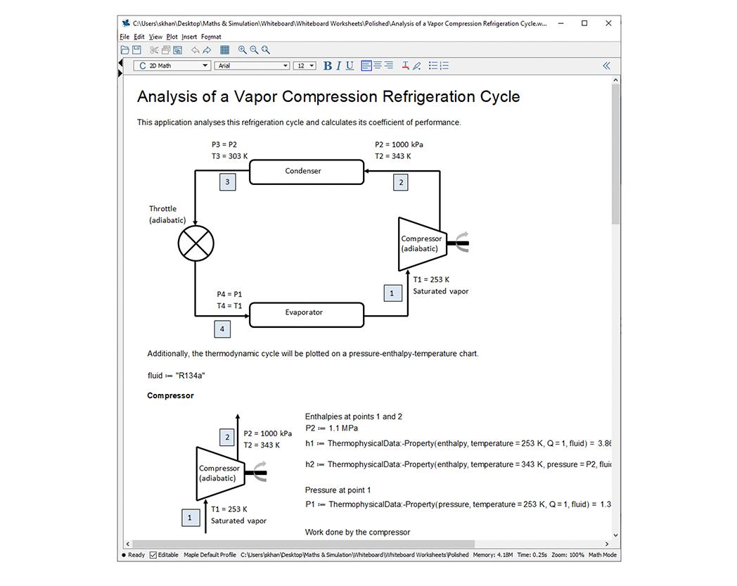 Revisión de software: Maple Flow es una herramienta flexible para proyectos de ingeniería