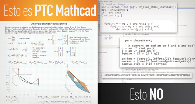Mathcad es vs no es