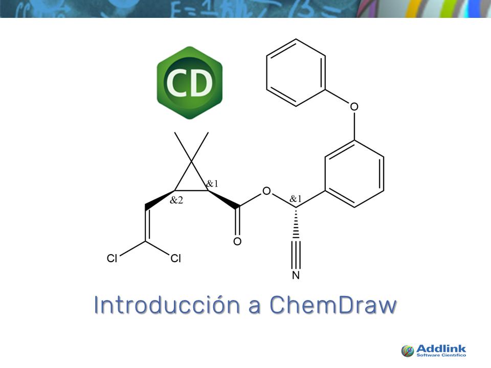 Introducción a ChemDraw