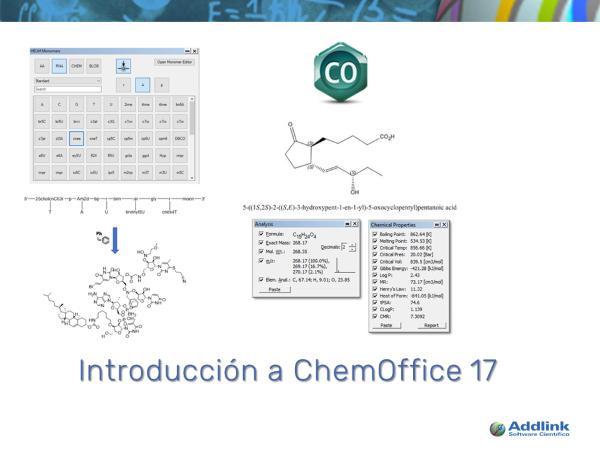 Introducción a ChemOffice 17