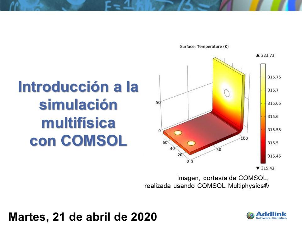 Taller: Introducción a la simulación multifísica con COMSOL (21 de abril de 2020)
