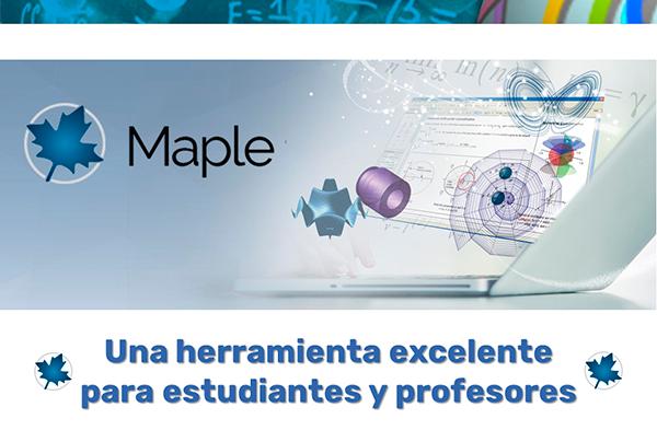 Maple, una herramienta excelente para estudiantes y profesores