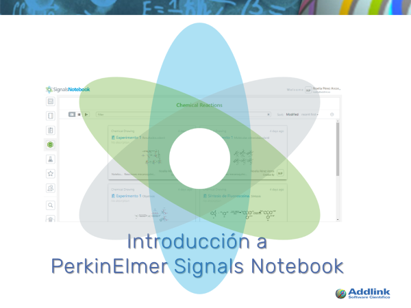 Introducción a PerkinElmer Signals Notebook (novedades noviembre 2017 y enero 2018)